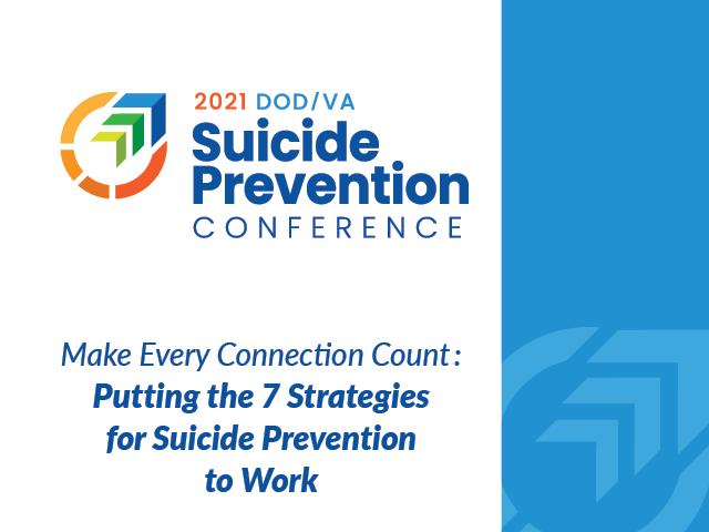 2021 Suicide Prevention Conference