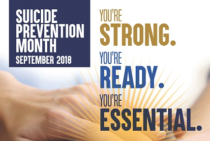 2018 Suicide Prevention Month