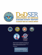 CY 2013 DoDSER Annual Report